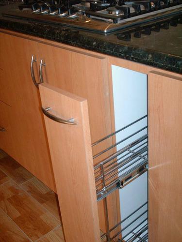 Herraje de cocina condimentero o verdurero extraible de for Cotizacion cocina