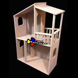 Casa Para Muñecas Barbie, Monster High, En Madera Mdf