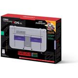Nintendo 3ds Xl Snes Edition + Super Mario Kart De Snes