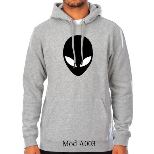 13a755620efad Sueter Sweater Alien Con Capucha Caballeros Y Damas