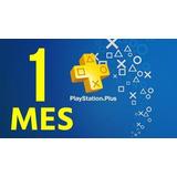 28 Dias Playstation Plus Psn 1 Mes Online Ps4