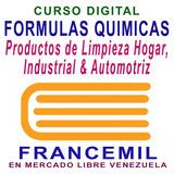 Curso Formulas Quimicas Productos Limpieza Industrial Hogar