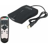 Usb 2.0captura De Vídeo Sintonizador De Tv/box Con Control