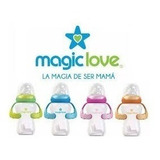 Tetero Y Vaso Entrenamiento, 3 Etapas Magic Love 8 Oz