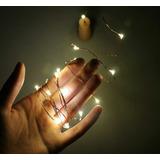 Luces Led Con Corcho Luces De Navidad