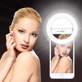 Aro Anillo De Luz Selfie Ring Usb iPhone Android