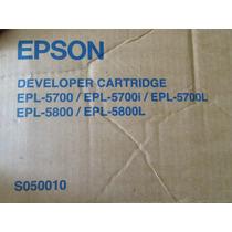 Toner Cartucho Epson Epl5700 Modelo S050010
