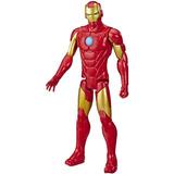 Muñeco Iron Man Avengers Marvel Serie Titan Hero Blast Gear