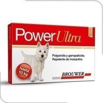 Pipeta Anti Pulgas Y Garrapatas Power Perros Hasta 10 Kg.