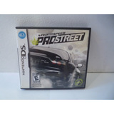 Juego Ds Need For Speed Pro Street Original Nfs