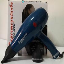 Secador Original Supermegaturbo Cabello 27000rpm Profesional