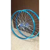 Rines Mtb  Alum  Bicicleta  26x36rayos Maza C/bloqueo- 324