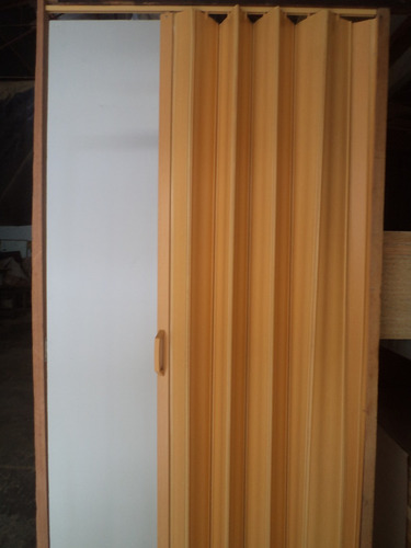 Puerta plegable tipo acordeon color arce bs vywkd for Puertas tipo acordeon