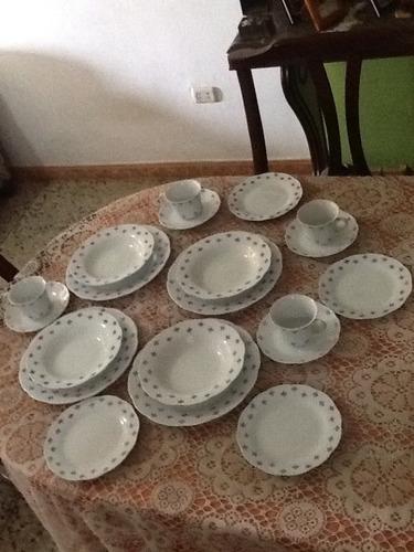 Vajilla 4 puestos blanca en porcelana bs wbcoe for Vajilla precio