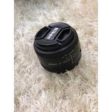 Lente 50mm Nikon Original Manual Af Automático