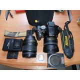 Cámara Nikon D5100 35mm
