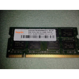 Memoria Ram Hnnix Laptop Pc2-6400 Ddr2 800mhz Dimm 200 Pin