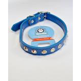 Collar Semi-cuero Grande Accesorio Para Perros