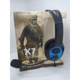 Audífonos Con Micrófonos X7  Gaming Headphones Xboox Pc