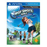 Juego Playstation Ps Vita Hot Shots Golf Original Sellado