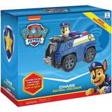 Paw Patrol Chase Vehiculo Patrulla Con Figura Coleccionable
