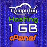 Web Hosting 1gb Con Cpanel Y Dominio (com.ve) Gratis X 1 Año