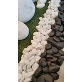 Piedras Blancas Negras Decorativas Por Kg