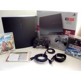 Playstation 3 Slim 320gb Full Juegos Accesorios