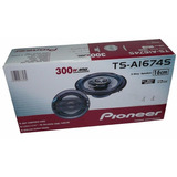 Cornetas Pioneer Ts-a1674s 300w De 16cm Woofer 160mm