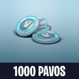 1000 Pavos Fornite Ps4, Switch Y Xb1 | Tienda F. | Bumsgames