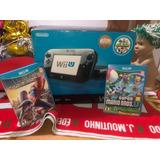 Wii U De 32gb+ 2 Juegos De Obsequio