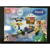 Lego Frozen 205 Pieza Muñeca Elsa Anna  Juguete Niña