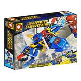 Lego Juguete Super Heroes Batman Nave Spiderman