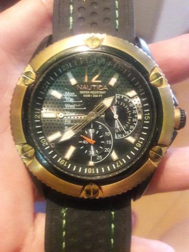 c777473fc9b5 Reloj Caballero Nautica Original