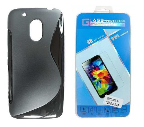 fb1c8eed57d Motorola Moto G4 Play Forro + Vidrio Templado G4 Play - 750 en ...