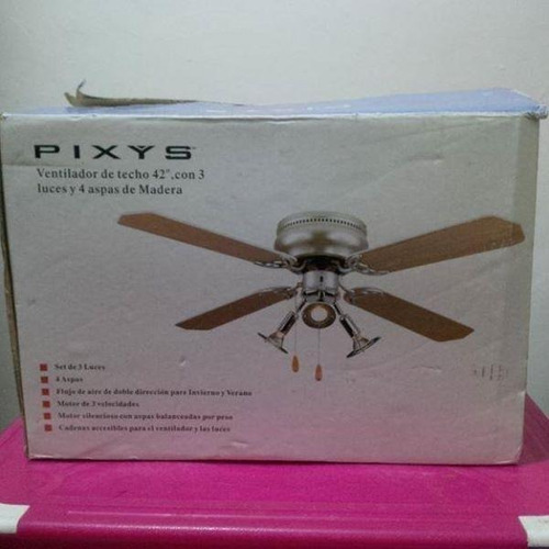 Lampara ventilador de techo pixys bs ysaan precio d venezuela - Precio de ventiladores de techo ...