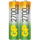 Batería Pila Gp Recargable  Aa  2700 Mah Ideal Wii Nuevas