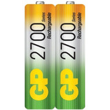 Baterías Pilas  Aa  Recargable  2700 Mah Gp Termosellada  2