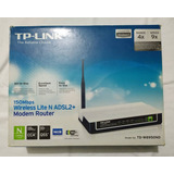 Modem+router Wifi Tplink Td-w8950nd 150mbps Adsl2+