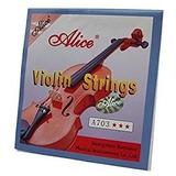 Cuerdas Individuales Para Violín Mi Marca Alice