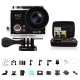 Camara De Accion Wifi 1080hd 12mp+bolso+gopro Go Pro