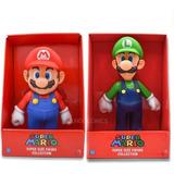 Muñecos De Mario Y Luigi Grande 23cm Nintendo