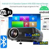 Nuevos Video Beam 130 Pulgadas Con Wifi Android Y Bluetooth