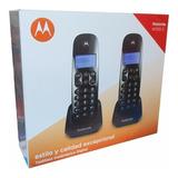 Telefono Inalambrico Doble Dect 6.0 Motorola Original