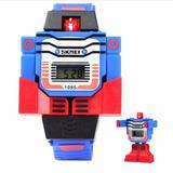 Reloj Transformers Bumblebee Y Optimus * Somos Tienda Fisica