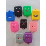 Carcasa Mas Forro Goma Silicon Control Alarma Ford 3y4 Bot