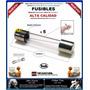 Fusible Tipo Americano / Vidrio / 6x30mm / Kit 5 Piezas /