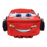 Bolso Morral Escolar Rayo Mc Queen Cars Nuevo Pixar Disney