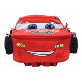 Bolso Morral Escolar Rayo Mc Queen Cars Nuevo Pixar Disney
