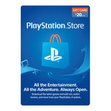 Playstation Psn Card 20